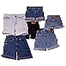 Shorts de mezclilla/denim
